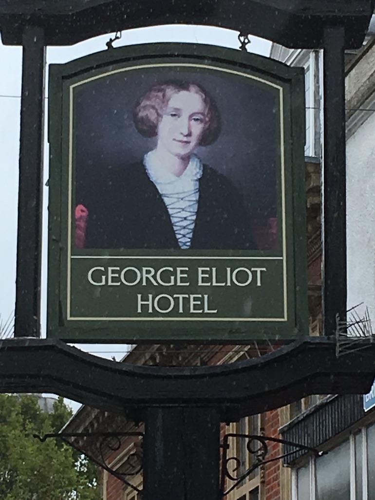 George ELiot Hotel in Nuneaton. Photo Credit: © Edwin Lerner.
