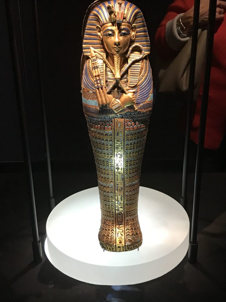 Tutankhamun London Exhibition_Tutankhamun Canoptic Jar. Photo Credit: © Edwin Lerner.