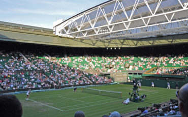Wimbledon Championships_Centre Court. Photo Credit: ©Albert Lee via Wikimedia Commons.