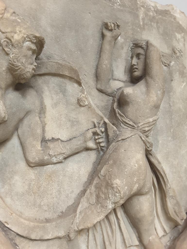 British Museum in London: The Mausoleum at Halicarnassus, c 350 B.C. modern Bodrum, Turkey. Photo Credit: ©Ingrid M Wallenborg.