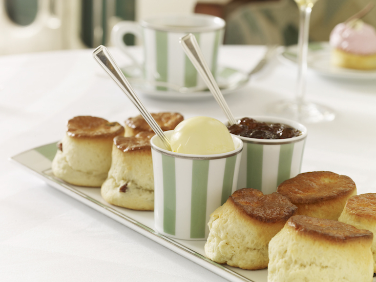 Afternoon tea at Claridge's is an indulgent experience. Photo Credit: © Claridge's.