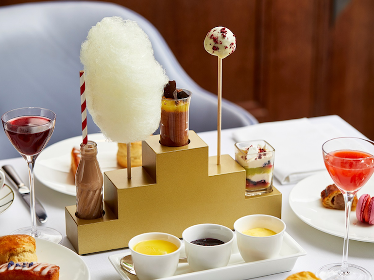 Charlie's chocolate factory comes to life at One Aldwych. Photo Credit: © One Aldwych.