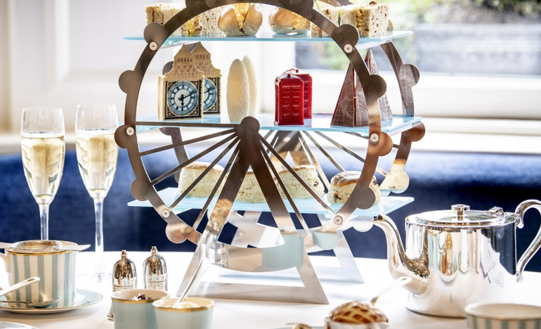 Sightsee while you're sipping tea at The Town House Kensington in London. Photo Credit: © The Kensington Hotel.