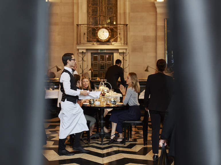 Afternoon tea at the Wolseley in London. Photo Credit: © The Wolseley.