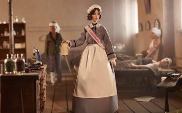 Florence Nightingale Barbie ® Part of Mattel Inspiring women TM dolls. Photo Credit: © Paul Jordan, Stylist Sheryl Fetrick.