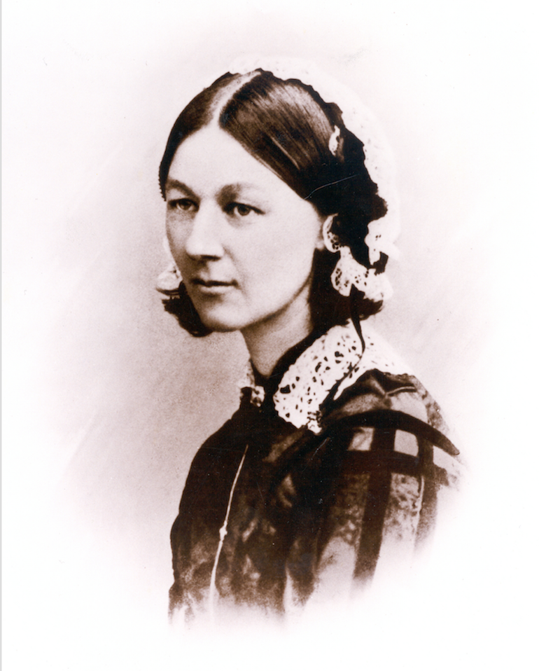One of the few photographs of a camera shy Florence Nightingale. Photo Credit: © Florence Nightingale Museum London.