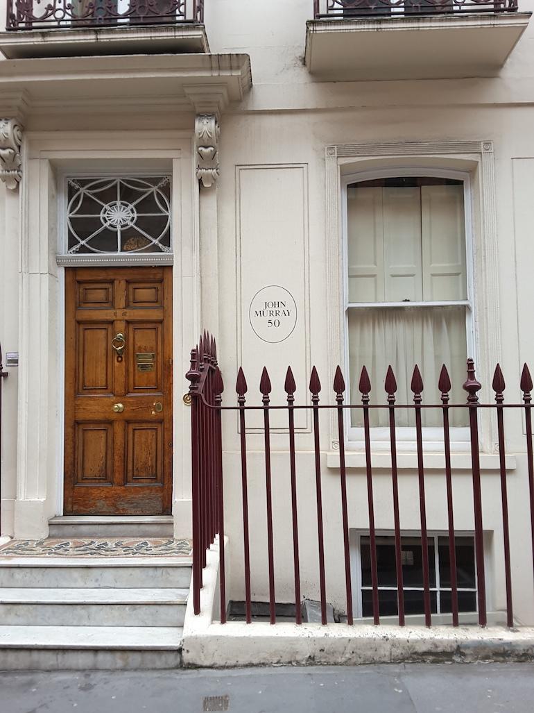 50 Albemarle Street in London. Photo Credit: © Ingrid M Wallenborg.