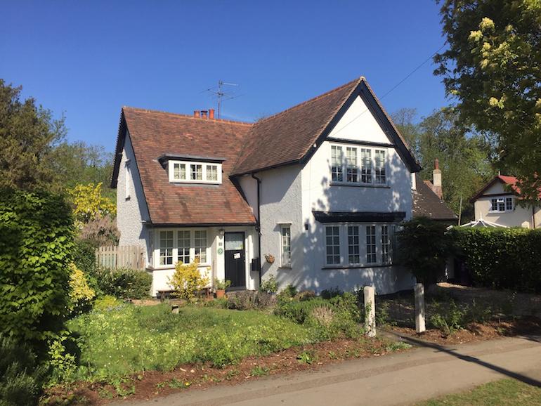 Cheap Cottage - Letchworth 1905 £150 cottage. Photo Credit: © Alex Hetherington.