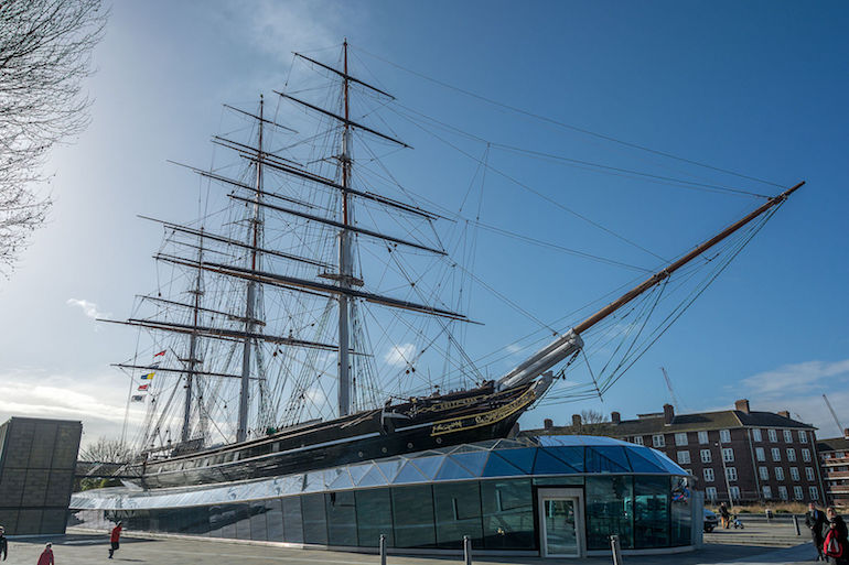 Cutty Shark ship in London. Photo Credit: © Krzysztof Belczyński.