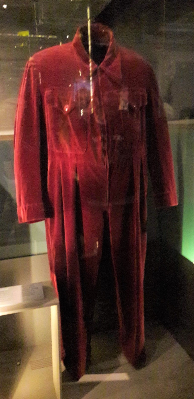 Romper suit at Churchill War Museum in London. Photo Credit: © Caroline Piper.