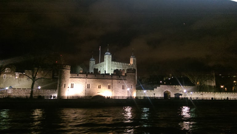 The Tower of London by night. Photo Credit: © Steve Fallon.