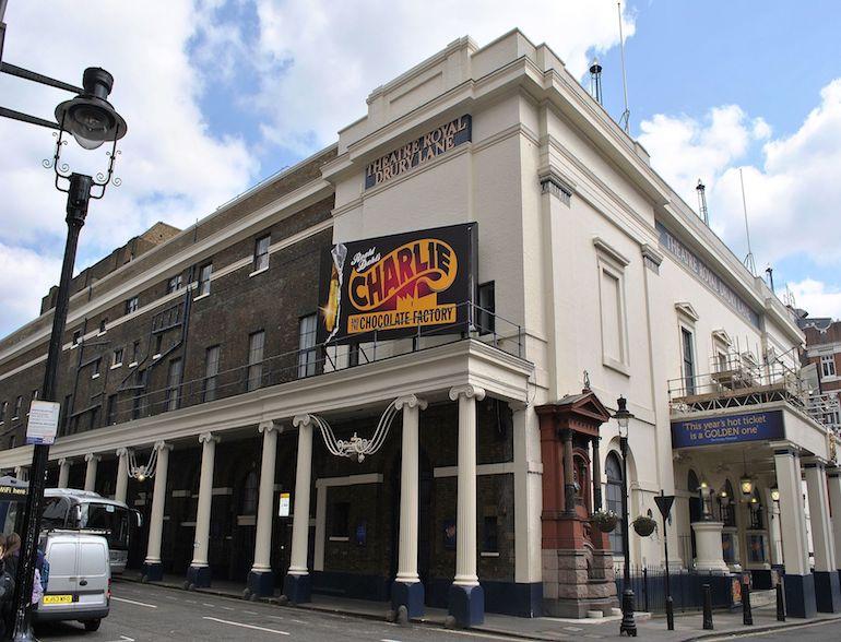 Theatre Royal, Drury Lane in London. Photo Credit: ©Elisa Rolle via Wikimedia Commons.
