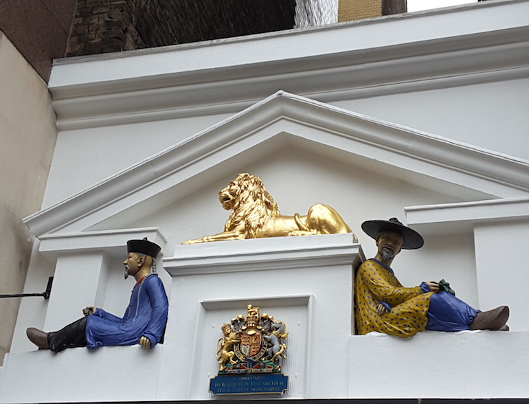 Twinings Tea Shop, 216 Strand, Temple, London. Photo Credit: © Ingrid M Wallenborg.
