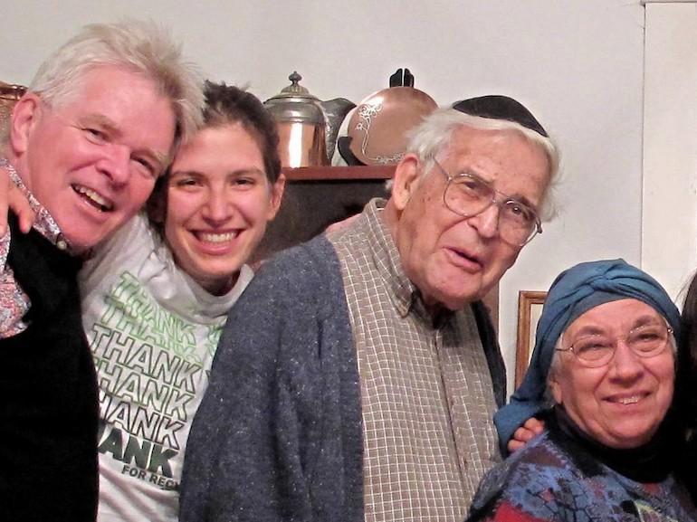 Steve, niece Tsivia Leah, Bill & Beulah. Photo Credit: ©Steve Fallon.