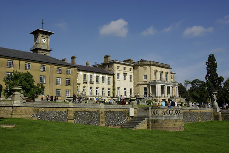 Bentley Priory Museum in Stanmore. Photo Credit: © David Marsden via Wikimedia Commons.