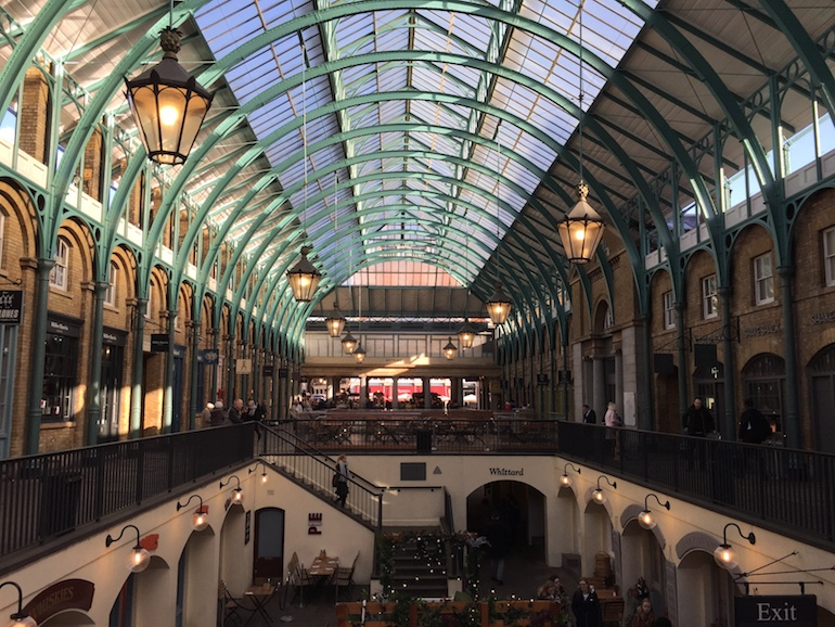 Covent Garden in London. Photo Credit: © Alfie Talman.