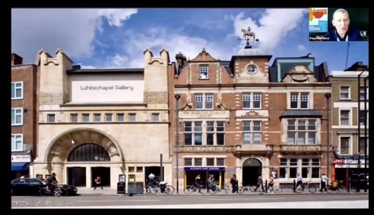 Exploring London through a virtual tour_Whitechapel Gallery.  Photo Credit: © Pepe Martinez.