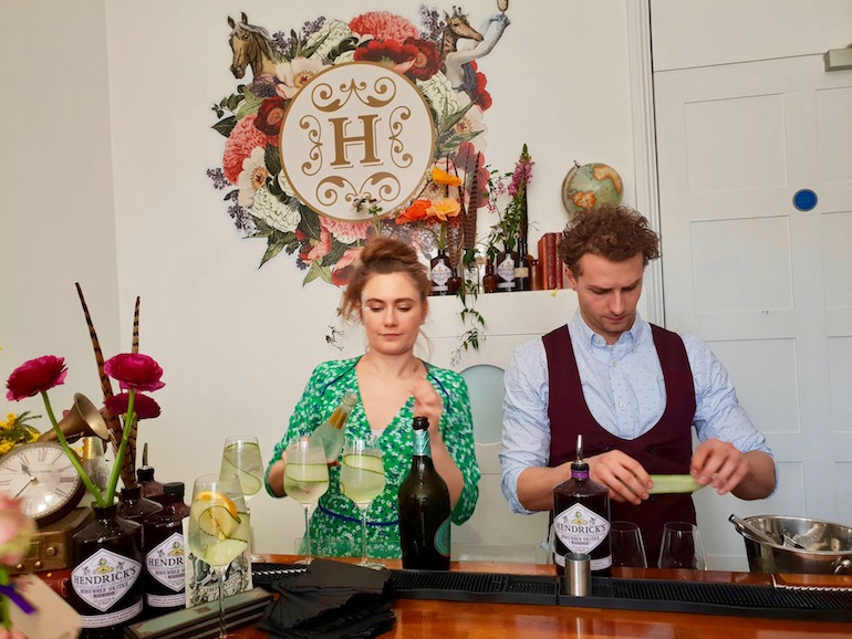 Pop up event in London for Hendrick's Gin. Photo Credit: © Ursula Petula Barzey.