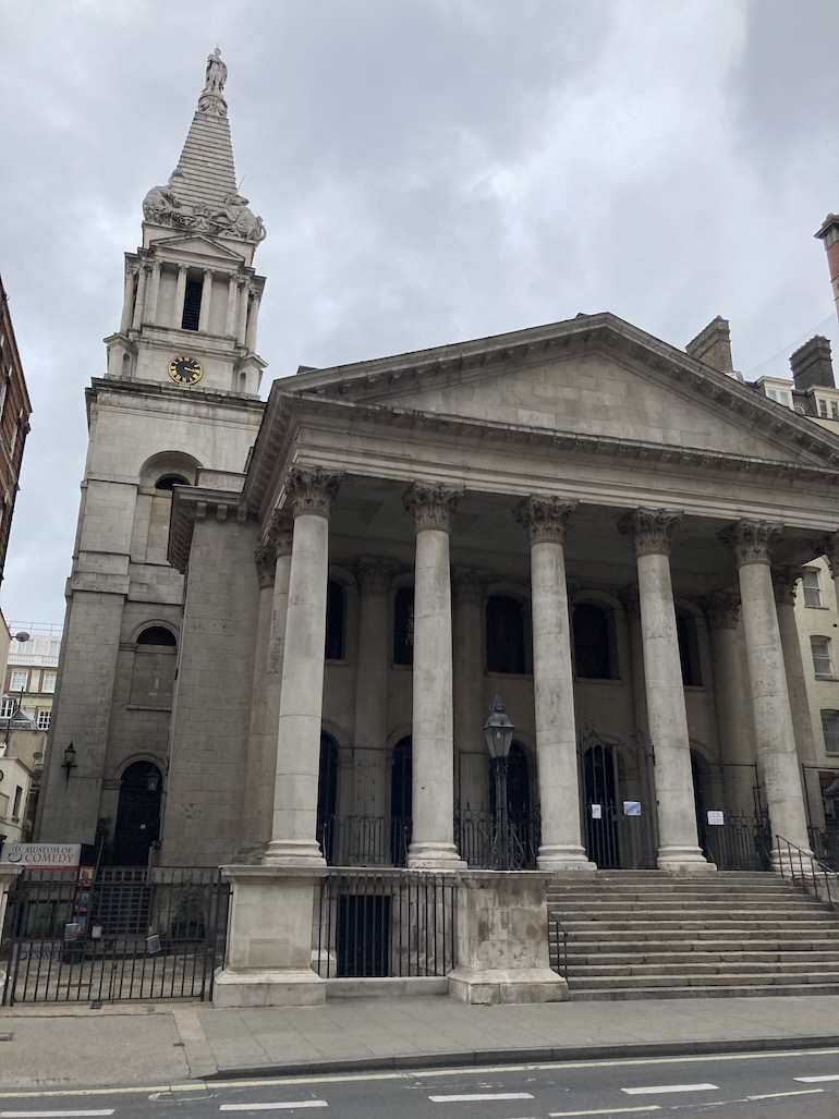 St. George's Bloomsbury near Gin Lane. Photo Credit: © Alfie Talman