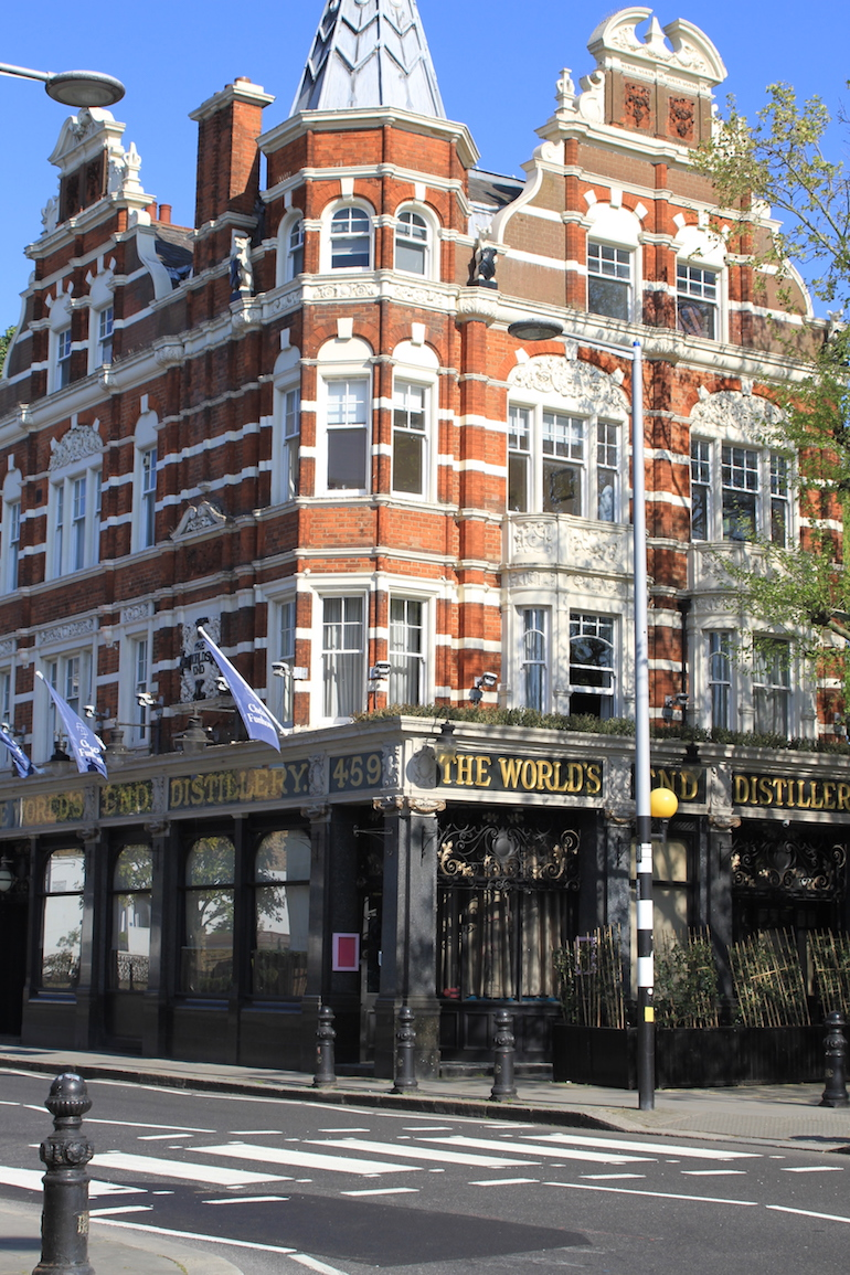 The World's End Pub in London. Photo Credit: © Clare McCoy.