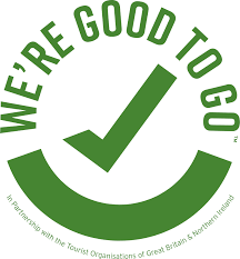 Visit Britain: We're Good To Go logo
