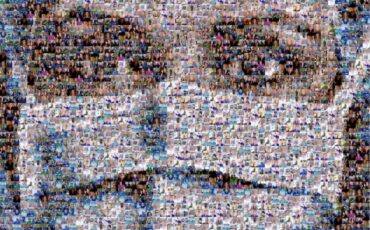 A digital collage created by portrait artist Nathan Wyburn of 200 NHS workers, created as a 'thank you' to the key workers during the 2019-20 coronavirus pandemic. Photo Credit: © Nathan Wyburn via Wikimedia Commons.