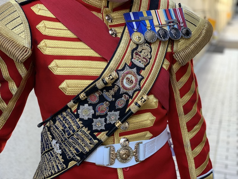 British Army jackets from the Victorian era. Photo Credit: © Antony Robbins.