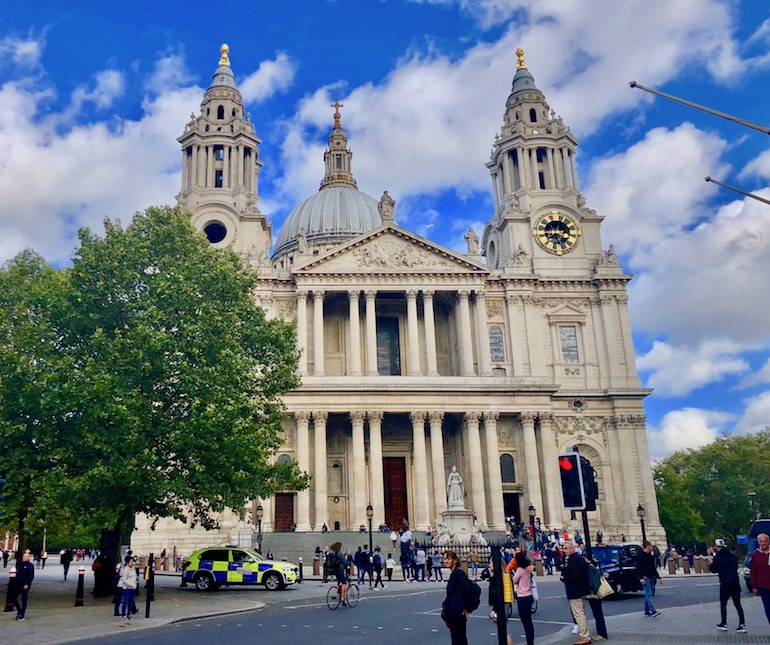 St Paul's Cathedral in London. Photo Credit: © Ursula Petula Barzey.