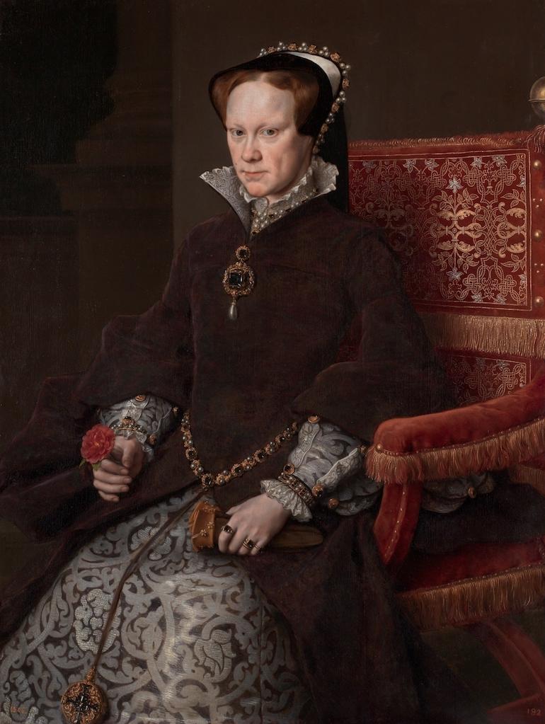Painting of Mary I also known as Mary Tudor. Photo Credit: © Public Domain via Wikimedia Commons.