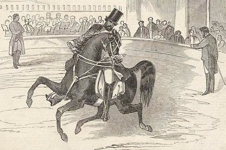 Pablo Fanque, the first black circus proprietor in Britain at Astley's Amphitheatre in 1847. Photo Credit: © Public Domain via Wikimedia Commons.