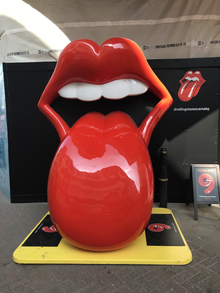 Rolling Stones store on Carnaby Street in London. Photo Credit: ©Edwin Lerner.