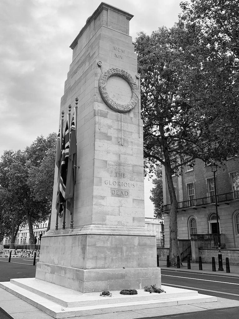 View of the Cenotaph in London. Photo Credit: © Ruth Polling.