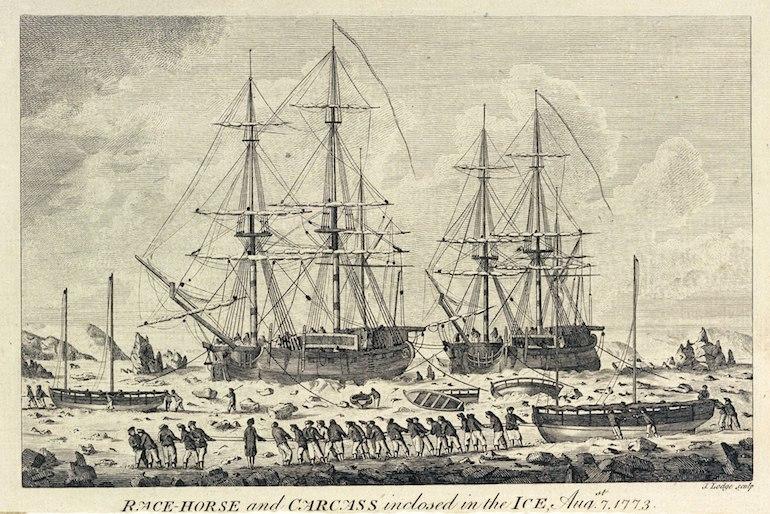 HMS Carcass (1759). Photo Credit: © Public Domain via Wikimedia Commons.