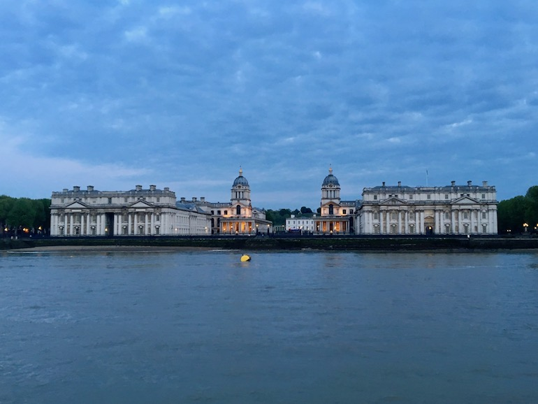 Old Royal Naval College in Greenwich, London. Photo Credit: ©Ursula Petula Barzey.