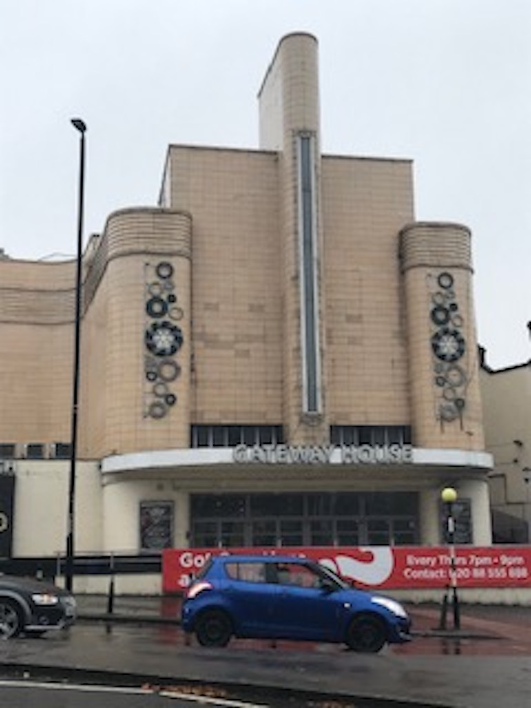 Woolwich Odeon. Photo Credit: © Steven Szymanski.
