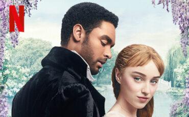 Poster for Bridgerton, a period drama series from Netflix. Photo credit: © Netflix.