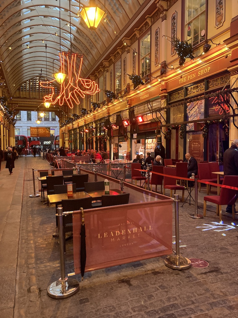 Leadenhall Market, where Dr Lockyer obtained his herbs and chemicals. Photo Credit: © Rick Jones.
