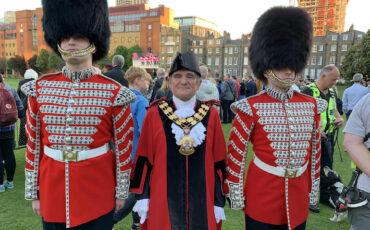 David Poyser, Mayor of Islington in London, 2018-19. Photo Credit: © David Poyser.