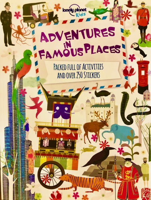 Lonely Planet Kids - Adventures In Famous Places.