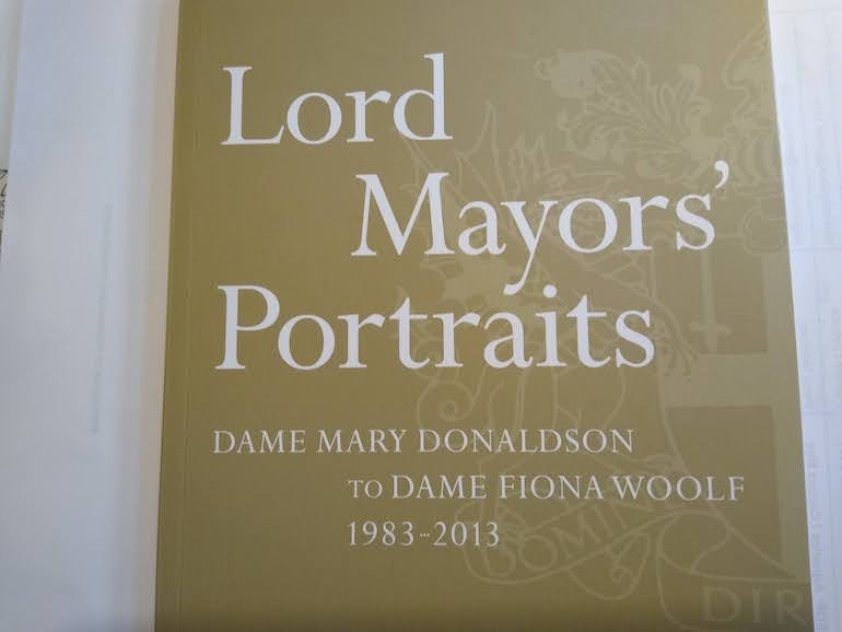 Lord Mayors' Portraits.
