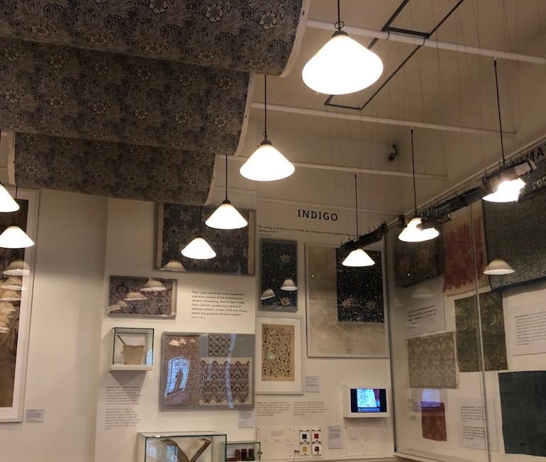 Reconstruction of Morris & Company, shop at 449 Oxford Street. Photo Credit: ©Gail Jones.