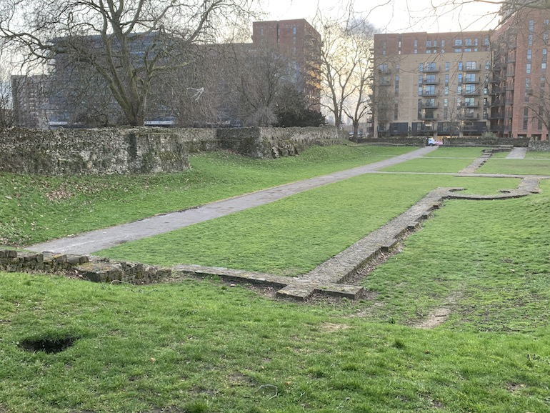 Ruins at Barking Abbey in London. Photo Credit: © Anne-Marie Walker.