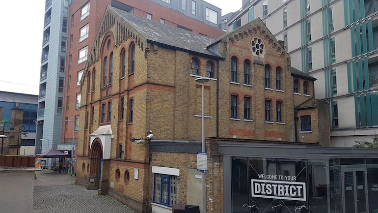 The Clore Building, 2 Chapel Yard, Wandsworth. Photo Credit: © Christopher Hayden.