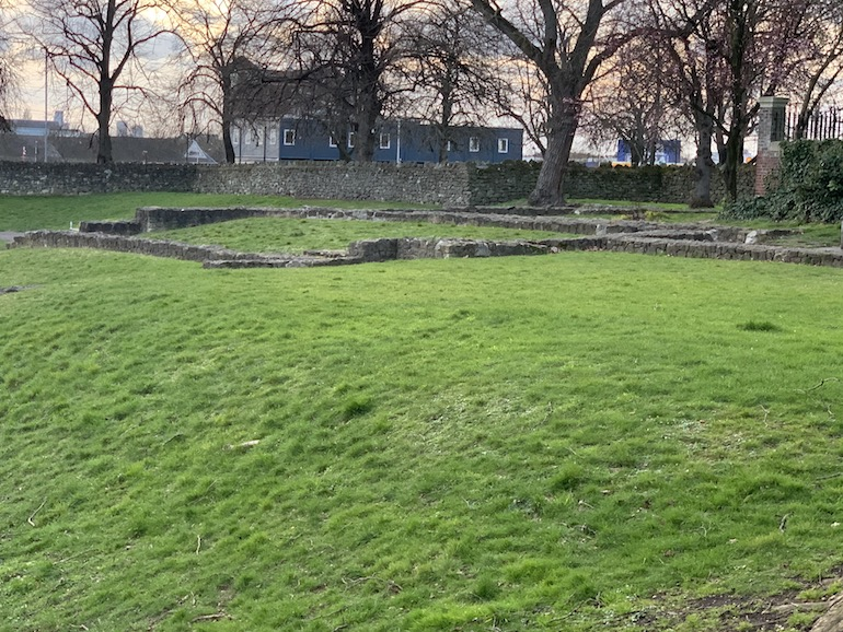 Yet more Barking Abbey ruins in the East End of London. Photo Credit: © Anne-Marie Walker.
