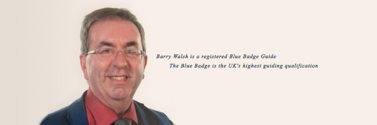 London Blue Badge Tourist Guide Barry Walsh.