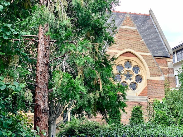 The former church of St Mark's, Shoreditch. Photo Credit: © Antony Robbins.
