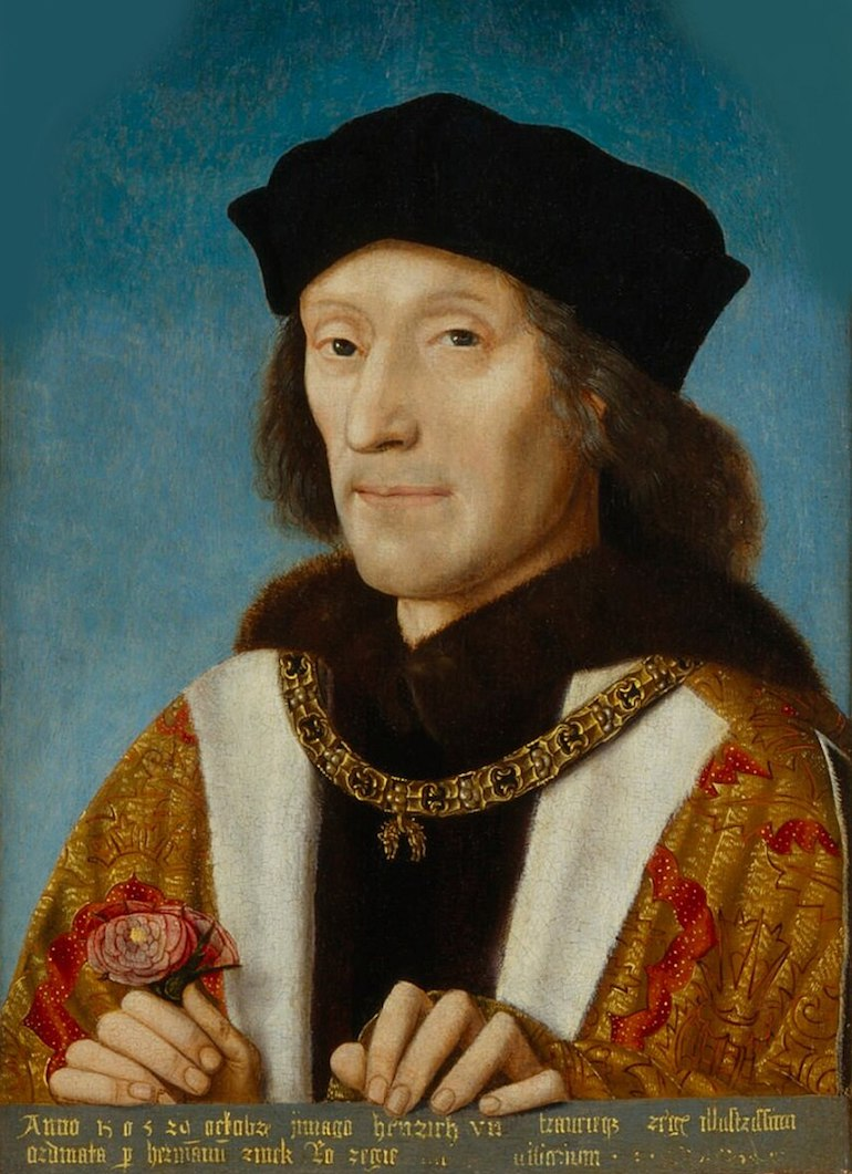 Portrait of Henry VII of England. Photo Credit: © Public Domain via Wikimedia Commons.