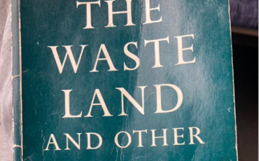 The Waste Land And Other Poems by T.S. Eliot. Photo Credit: © Rick Jones.