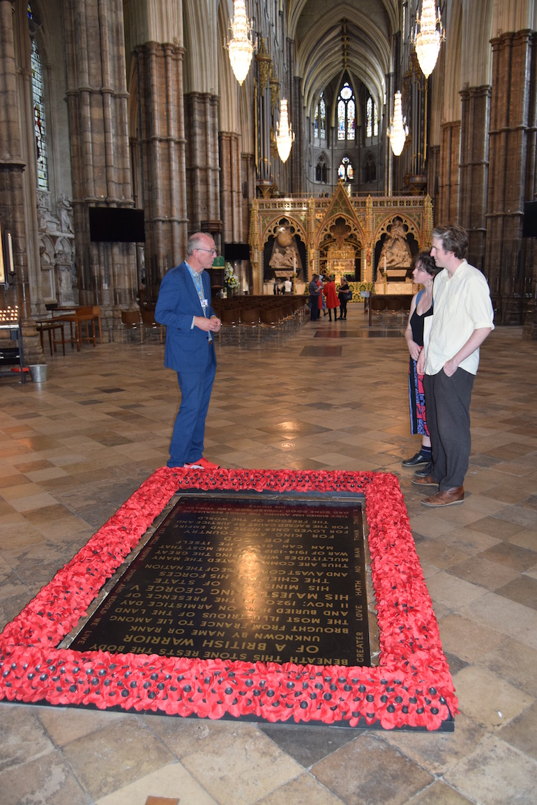 Westminster Abbey Burials: The Unknown Warrior. Photo Credit: © David Streets.