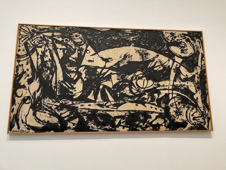 Jackson Pollock Number 14 (1951). Photo Credit: ©Rick Jones.